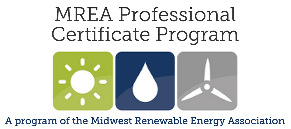 Professional Certificate Program Midwest Renewable Energy Association