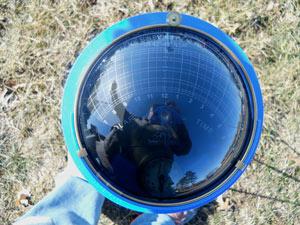 Solar Pathfinder tool