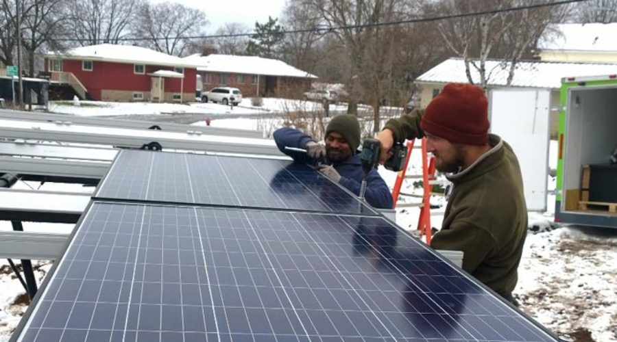 Solar Chippewa Valley Group Buy Breaks Ground on First Install