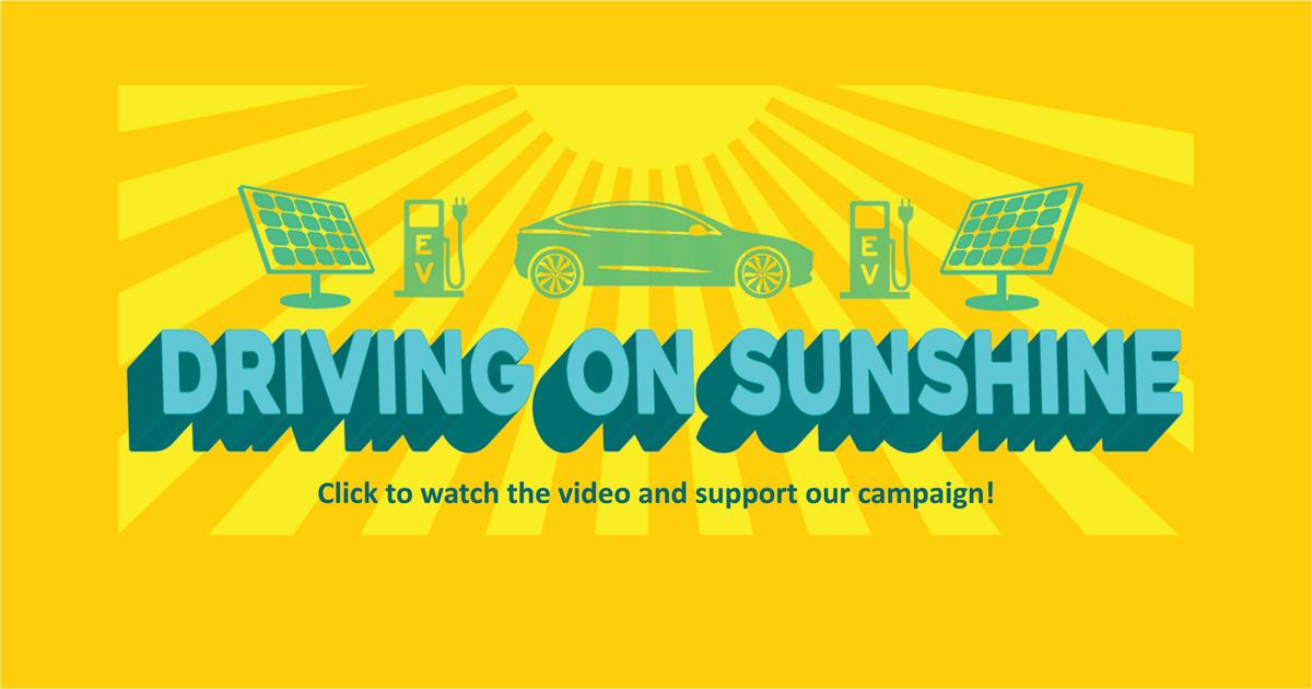 Driving on Sunshine Campaign Raises $23,000!