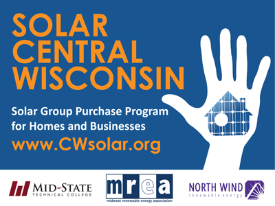 Solar Central Wisconsin Passes 100kW! Final Info Session 8/25/17