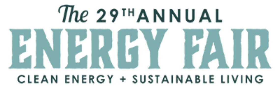 The 29th Annual Energy Fair