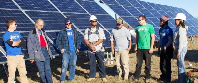 MREA works with RREAL on Community Solar for Community Action (CS4CA)