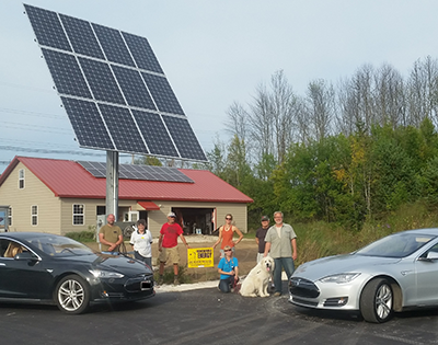 MREA Hosts Wisconsin Solar Tour in Support of National Tour