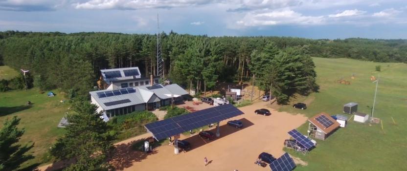 MREA Solar Canopy, Driving on Sunshine Case Study