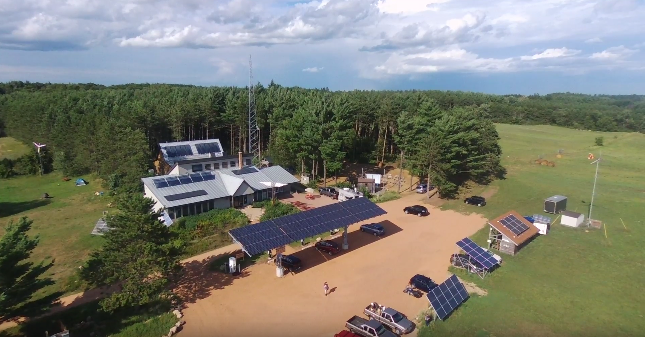 MREA Solar Canopy, Driving on Sunshine Case Study