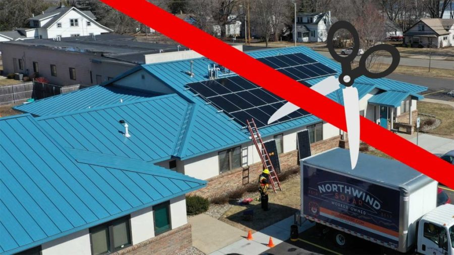 CAP Services PV Installation Completed Through MREA Solar Grant