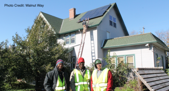 MREA Partners with Walnut Way to host Solar Training