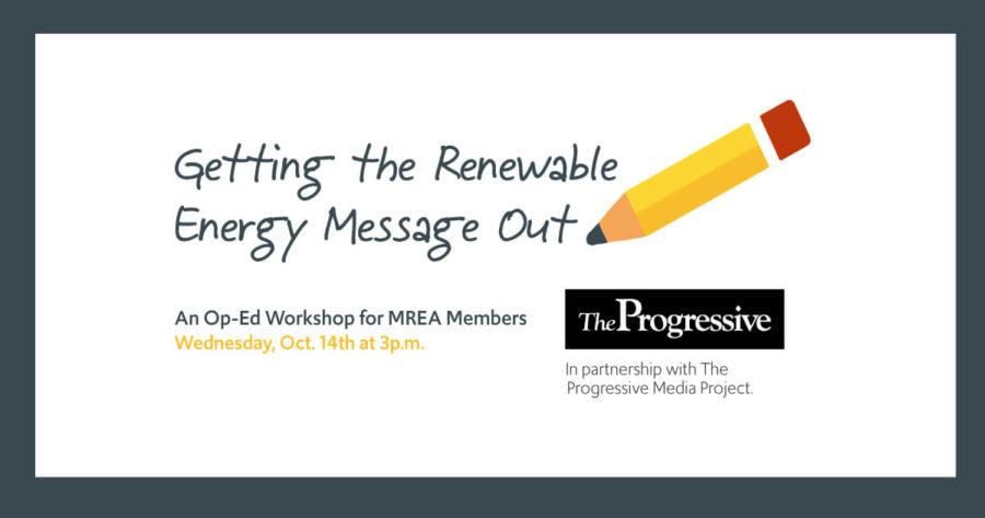 Op-Ed Workshop for Members: Oct. 14