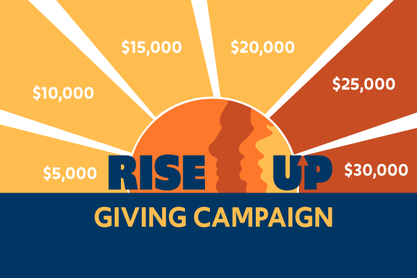 Rise Up Giving Campaign: Help Create a Just Energy Transition