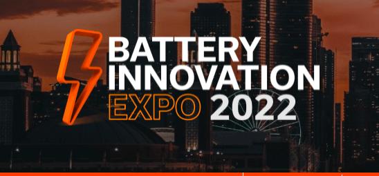 Battery Innovation Expo 2022